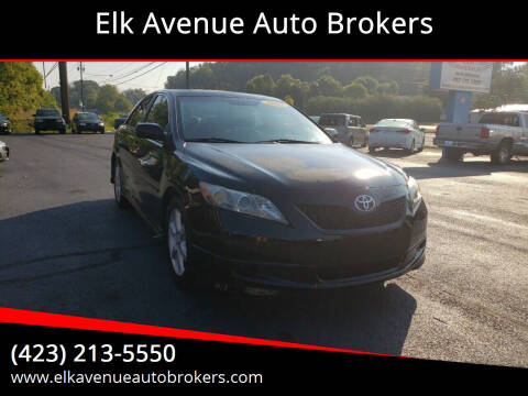 2007 Toyota Camry for sale at Elk Avenue Auto Brokers in Elizabethton TN