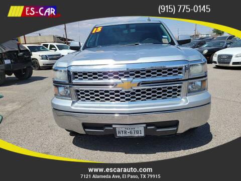 2015 Chevrolet Silverado 1500 for sale at Escar Auto in El Paso TX
