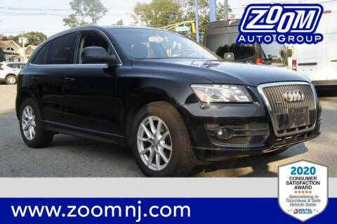 2012 Audi Q5 for sale at Zoom Auto Group in Parsippany NJ