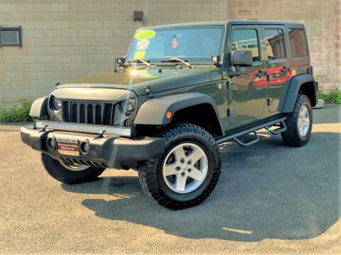 2015 Jeep Wrangler Unlimited for sale at Somerville Motors in Somerville MA