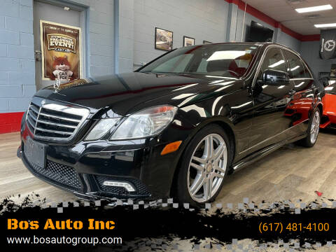 2010 Mercedes-Benz E-Class for sale at Bos Auto Inc in Quincy MA