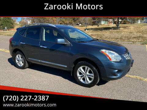 2012 Nissan Rogue for sale at Zarooki Motors in Englewood CO