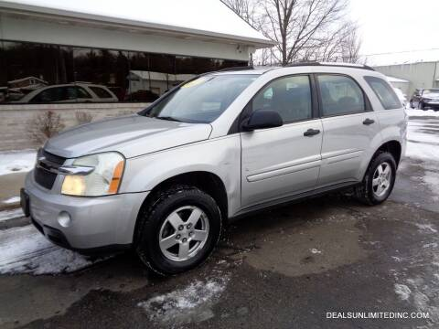 2007 Chevrolet Equinox for sale at DEALS UNLIMITED INC in Portage MI