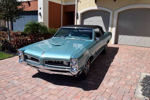 1966 Pontiac GTO 242 Vin for sale at Sunshine Classics, LLC in Boca Raton FL