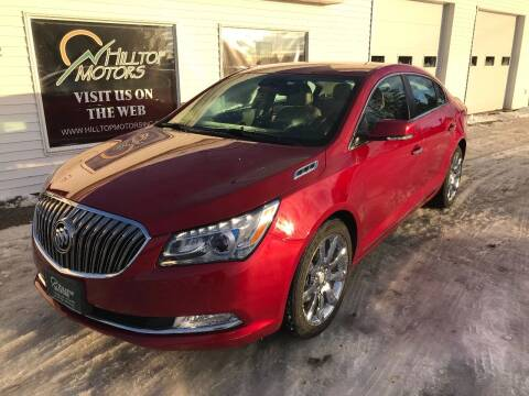 2014 Buick LaCrosse for sale at HILLTOP MOTORS INC in Caribou ME