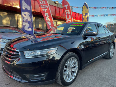 2016 Ford Taurus for sale at Duke City Auto LLC in Gallup NM