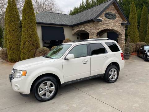 2010 Ford Escape for sale at Hoyle Auto Sales in Taylorsville NC