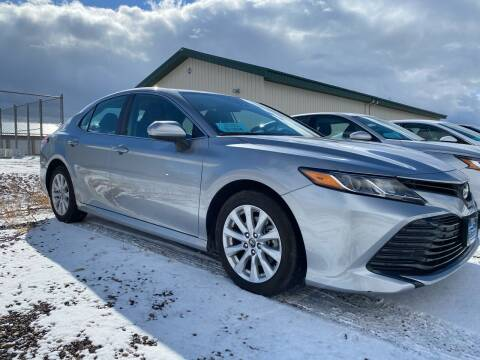2020 Toyota Camry for sale at FAST LANE AUTOS in Spearfish SD