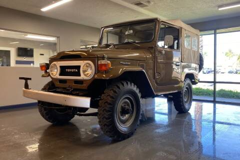 1976 Toyota Land Cruiser for sale at Gallery Junction in Orange CA