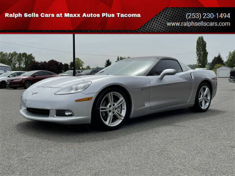 2009 Chevrolet Corvette for sale at Ralph Sells Cars at Maxx Autos Plus Tacoma in Tacoma WA