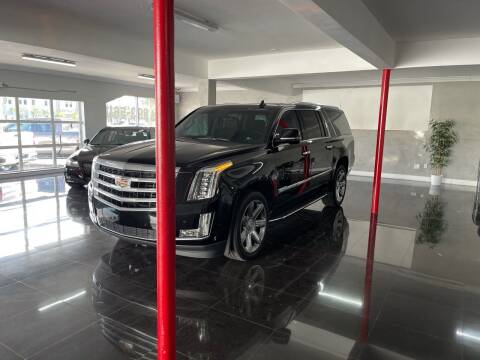 2017 Cadillac Escalade ESV for sale at CARSTRADA in Hollywood FL