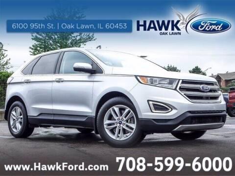 2015 Ford Edge for sale at Hawk Ford of Oak Lawn in Oak Lawn IL