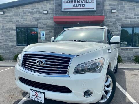 2014 Infiniti QX80 for sale at GREENVILLE AUTO in Greenville WI