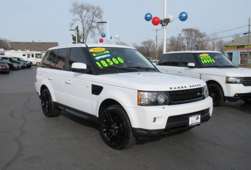 2012 Land Rover Range Rover Sport for sale at Auto Land Inc in Crest Hill IL