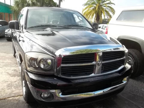 2006 Dodge Ram Pickup 1500 for sale at PJ's Auto World Inc in Clearwater FL