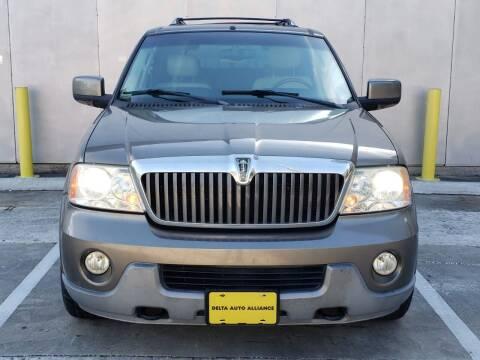 2003 Lincoln Navigator for sale at Delta Auto Alliance in Houston TX