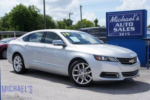 2019 Chevrolet Impala for sale at Michael's Auto Sales Corp in Hollywood FL