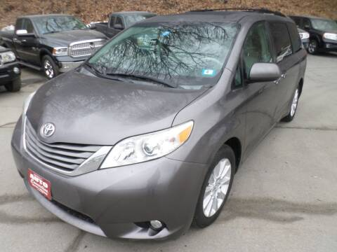2011 Toyota Sienna for sale at AUTO CONNECTION LLC in Springfield VT
