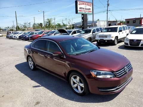 2014 Volkswagen Passat for sale at Jamrock Auto Sales of Panama City in Panama City FL