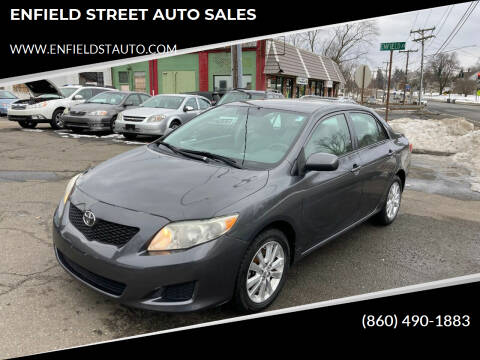 2009 Toyota Corolla for sale at ENFIELD STREET AUTO SALES in Enfield CT