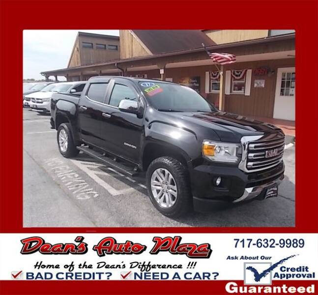 2017 GMC Canyon for sale at Dean's Auto Plaza in Hanover PA