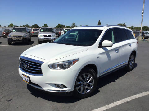 2014 Infiniti QX60 for sale at My Three Sons Auto Sales in Sacramento CA