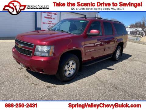 2010 Chevrolet Suburban for sale at Spring Valley Chevrolet Buick in Spring Valley MN