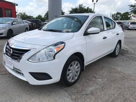 2017 Nissan Versa for sale at Talisman Motor City in Houston TX