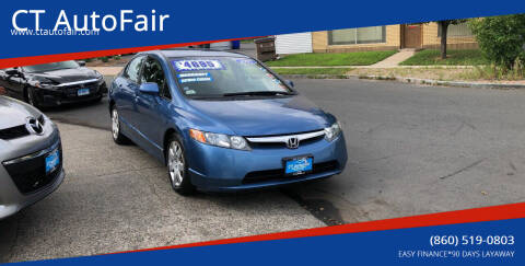 2007 Honda Civic for sale at CT AutoFair in West Hartford CT