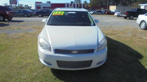 2012 Chevrolet Impala for sale at Auto Mart - Moncks Corner in Moncks Corner SC