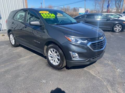 2018 Chevrolet Equinox for sale at Used Car Factory Sales & Service Troy in Troy OH