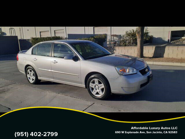 2006 Chevrolet Malibu for sale at Affordable Luxury Autos LLC in San Jacinto CA
