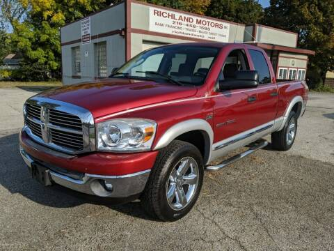 2007 Dodge Ram Pickup 1500 for sale at Richland Motors in Cleveland OH