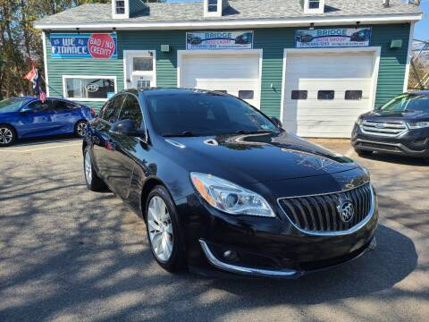 2017 Buick Regal for sale at Bridge Auto Group Corp in Salem MA