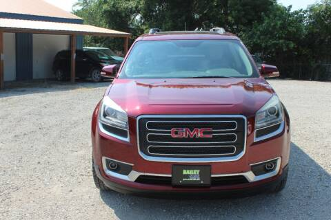 2015 GMC Acadia for sale at Bailey & Sons Motor Co in Lyndon KS