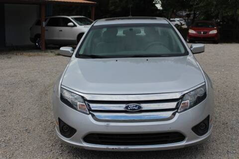 2011 Ford Fusion for sale at Bailey & Sons Motor Co in Lyndon KS