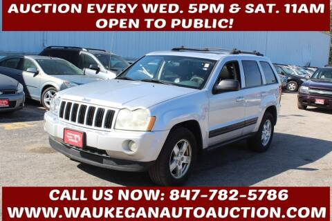 2006 Jeep Grand Cherokee for sale at Waukegan Auto Auction in Waukegan IL