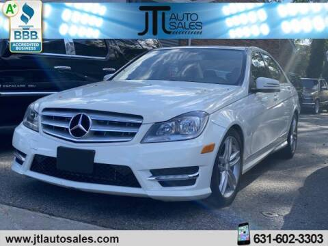 2012 Mercedes-Benz C-Class for sale at JTL Auto Inc in Selden NY