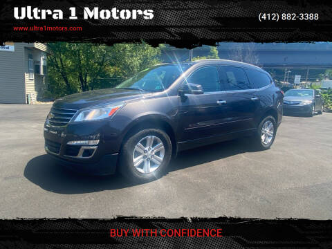 2013 Chevrolet Traverse for sale at Ultra 1 Motors in Pittsburgh PA