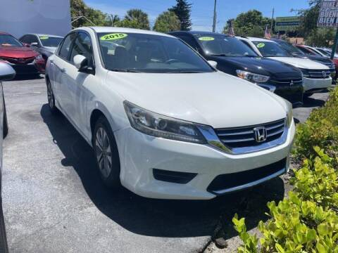 2015 Honda Accord for sale at Mike Auto Sales in West Palm Beach FL