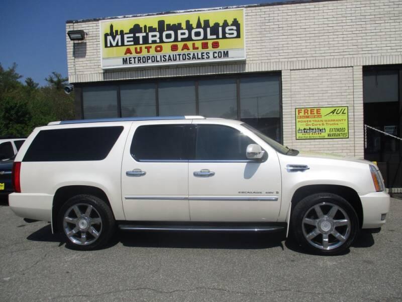 2008 Cadillac Escalade ESV for sale at Metropolis Auto Sales in Pelham NH