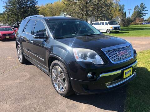 2012 GMC Acadia for sale at Blakes Auto Sales in Rice Lake WI