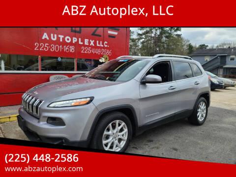 2015 Jeep Cherokee for sale at ABZ Autoplex, LLC in Baton Rouge LA