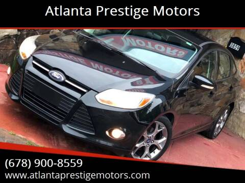 2013 Ford Focus for sale at Atlanta Prestige Motors in Decatur GA