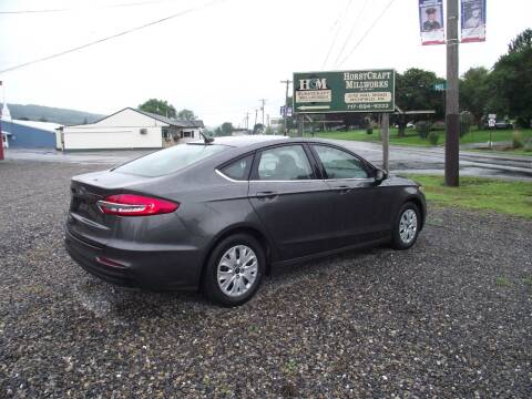 2019 Ford Fusion for sale at Country Truck and Car Lot II in Richfield PA