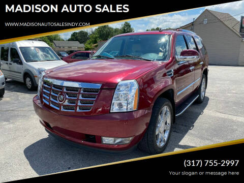 2008 Cadillac Escalade for sale at MADISON AUTO SALES in Indianapolis IN