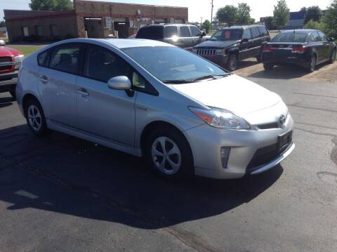 2012 Toyota Prius for sale at Bruns & Sons Auto in Plover WI