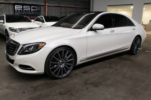 2014 Mercedes-Benz S-Class for sale at ESPI Motors in Houston TX
