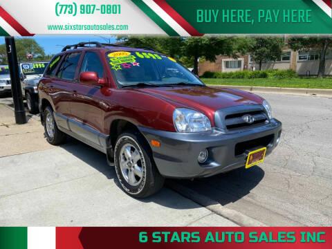 2005 Hyundai Santa Fe for sale at 6 STARS AUTO SALES INC in Chicago IL