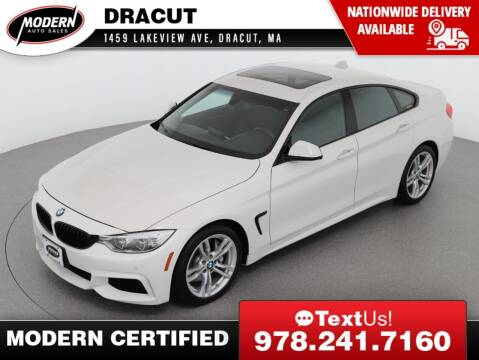 2015 BMW 4 Series for sale at Modern Auto Sales in Tyngsboro MA
